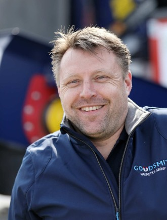 Portrait Roland Metsemakers, Sales Manager Recycling Deutschland, Goudsmit Magnetic Systems BV
